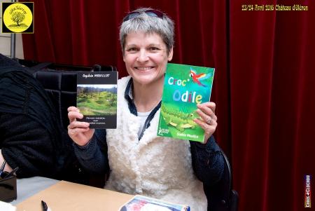 Salon du livre CitaLivres Château d'Oléron 23 et 24/04/2016